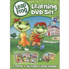LeapFrog:+Learning+DVD+Set+(Full+Frame)