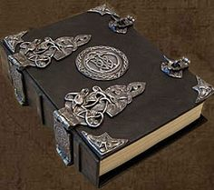 Brahm's Bookworks, Celtic, Dragon, Grimoire, Book of Shadows