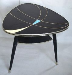 60s end table