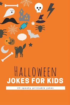 such funny halloween jokes for kids! I printed them out for the trick or treat bags.