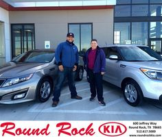 https://flic.kr/p/BTYxXT | Happy Anniversary to Felix on your #Kia #Optima from Ruth Largaespada at Round Rock Kia! | deliverymaxx.com/DealerReviews.aspx?DealerCode=K449