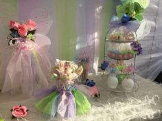 pastel Butterfly Birthday Party cakepops and treats
