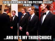 HOW DARE YOU MAKE ME DECIDE BETWEEN BENEDICT AND TOM!!! <<< I'm sorry, but is that freakin professor lupin!?