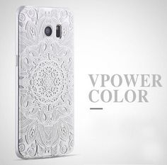 for samsung galaxy s7 / s7 edge Silicone case Vpower 3d relief cartoon back soft Cover house for galaxy s7 edge + ring holder