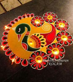 51 Diwali Rangoli Designs Simple and Beautiful Rangoli Designs Peacock, Best Rangoli Design, Simple Rangoli Designs Images, Rangoli Designs Latest, Small Rangoli Design, Colorful Rangoli Designs, Beautiful Rangoli Designs, Kolam Designs, Mandala Design