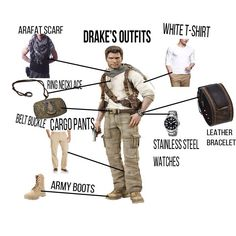 Nathan Drake, Uncharted 3  #uncharted #videogames