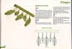 View album on Yandex. Crochet Chain, Crochet Fringe, Freeform Crochet, Crochet Scarves, Crochet Motif, Crochet Flowers, Crochet Lace, Crochet Stitches, Crochet Edging Patterns
