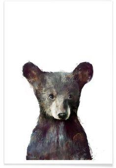 Little Bear als Premium Poster von Amy Hamilton | JUNIQE