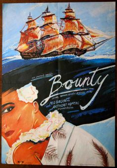 "A Bounty (1984)""The Bounty""   Director: Roger Donaldson Mel Gibson, Anthony Hopkins, Laurence Olivier 