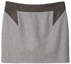 Gwyneth Paltrow donated Givenchy Grey & Black Skirt #goopcelebrityclosetsale