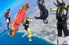 Skydiving hahaha