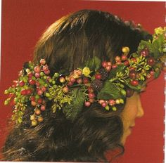 berry nice head wreath