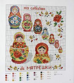 Gallery.ru / Фото #108 - Les plus belles collections au point de croix - Gala40