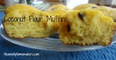 Tried and Liked: Coconut Flour Muffins - gluten and dairy free.  So good, light and moist, more like a cupcake!