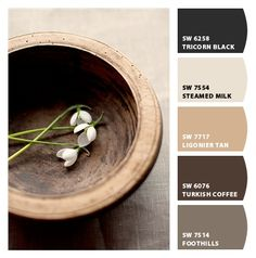 Create an inspired palette of neutral paint colors for your home makeover.
