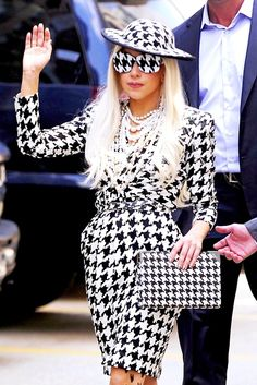 Lady Gaga- I love this outfit.