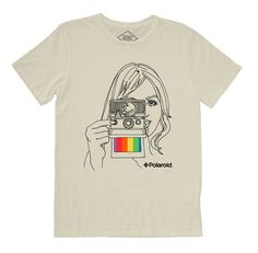 Altru Apparel Polaroid Camera mens shirt | Altru Apparel