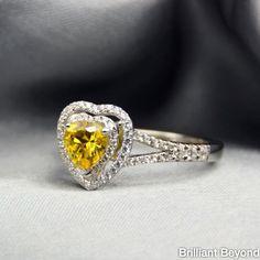 Fancy yellow heart!