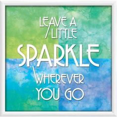 Your Sparkle I 21.375 inch x 21.375 inch Wall Art, White