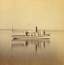 Nantucket steamer, Island Belle. Photograph courtesy of the Nantucket Historical Association.