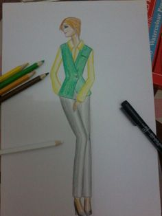 This is my last result of tonight, green and yellow Remember! I'm still an amateur at all