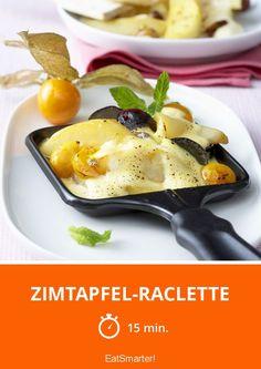 Zimtapfel-Raclette - smarter - Zeit: 15 Min. | eatsmarter.de