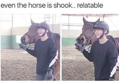 I'm the horse