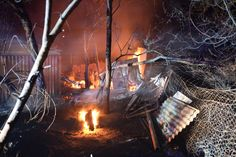 Properties burning due to the worst bushfires to hit South Australia in some 30 years. New Scientist, Australian Homes, South Australia, 30 Years, Mind Blown, Fire, Pictures, Photos, Nature