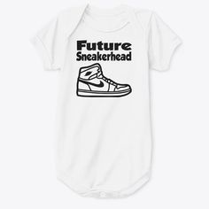 If you're a sneakerhead and especially a parent this onesie might the best option for your child. This onesie sports the all so amazing jordan 1. This future sneakerhead jordan 1 baby onesie is one of a kind and custom made. #customclothing #babyclothing #babyonesie #sneakerhead #jordan #jordan1 #jordanbabyonesie #jordanonesie #airjordanonesie #customonesie #custombabyclothes #diyclothing #newbornclothing #customnewbornclothes #infantclothing #customsneakers #customjordan1 #sneakerculture Diy Clothing, Custom Clothes, Custom Baby Onesies, Felt Material, Front Bottoms, Newborn Outfits, Black Felt, Custom Sneakers, Jordan 1