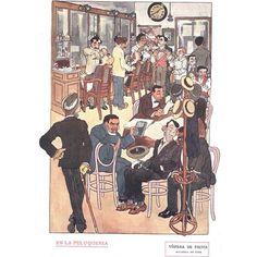 En la peluqueria  #1916 #argentina #buenosaires #vintage #ads #freelance #diseñoweb #tango
