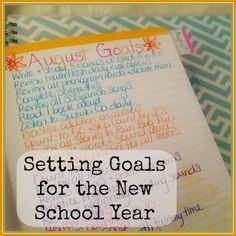 What happens when you are not great at #homeschool planning?  How do you Set Goals for the New School Year?  Read and find out!