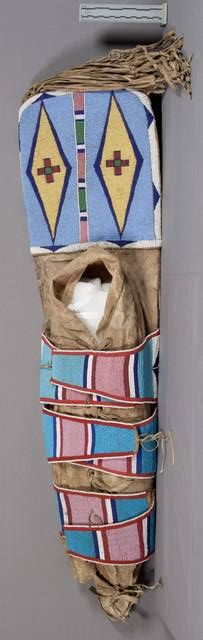 Great Crow cradle, pre 1892, NMNH Native American Clothing, Native American Indians, Native Americans, Crow Indians, Indian Shoes, Indian People, Native Design, Native Beadwork, Totem Poles
