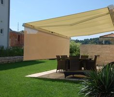 """Add a """"Drop Valance"""" to your awning for added protection as the sun rises or sets."""