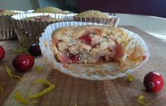 Cranberry Orange Muffins from Fried Dandelions