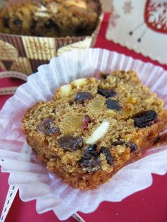 Boozy Vegan Fruitcake http://aliensdayout.com/2011/12/boozy-vegan-christmas-fruit-cake.html#  IMG_9634.jpg by mipa lee, via Flickr
