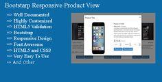nice Bootstarp Responsive Item View (Miscellaneous)