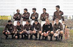 Una formazione del Milan stagione 1962-63
