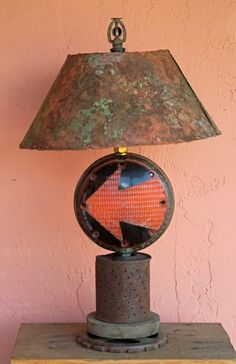 object art recycle lamps tables lamps sculpture lamps creative lamps. Black Bedroom Furniture Sets. Home Design Ideas
