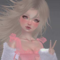 Aesthetic Images, Aesthetic Anime, Blushing Anime, Emo Princess, Virtual Girl, Anime Makeup, Instagram Photo Editing, Cool Anime Girl, Creepy Art