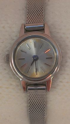 Forever 21 Hipster Retro Silver Tone Stainless Steel Ladies Analog Watch $12.38 #Casual