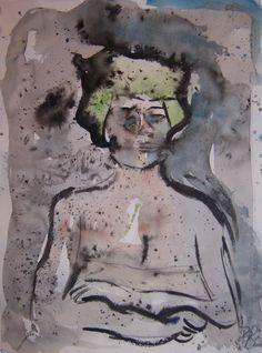 """L.A. Woman""   Watercolor"