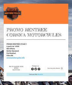 PROMO RENTREE  CORSICA MOTORCYCLES