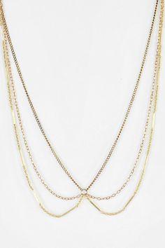 Brooklyn Charm X Urban Renewal Jamie Chain Collar Necklace