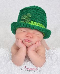 Little Leprechaun Diaper Covers, St Pattys, Leprechaun, Crochet Baby, Hats, Photography, Photograph, Hat, Fotografie