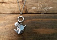 "18"" Silver Sparrow ""Joy"" Diffuser Necklace – Sacred Arrow"