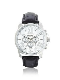34% OFF Ingersoll Men's 3216SL Waddell Black/Silver Stainless Steel Watch