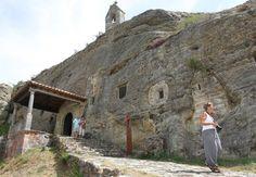 Iglesia rupestre de Olleros de Pisuerga (Palencia)