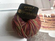 More of my stash from YFE. LOVE Karabella!  http://www.yarningforewe.net/  Ravelry: NikkiLaTricoteuses Karabella Yarns Aurora 8 Space Dyed