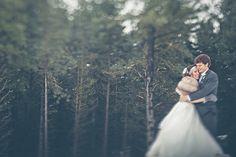 Rustic winter wedding!