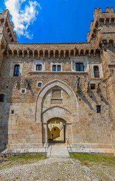 Piccolomini Castle dates back to 1392 and is the home of the Museum of Arte Sacra della Marsica. Celano(AQ). www.theheartofabruzzo.it